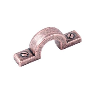 Century Raw Authentic 1-1/4 Inch CC Cabinet Pull- Aged Matte Red Copper