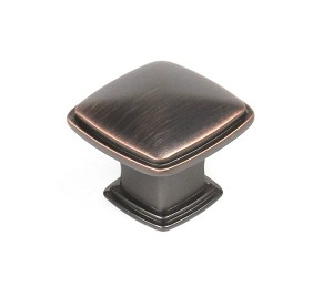 Century BCI 1 1/4 Inch Cabinet Knob in Oil Rubbed Bronze w/Highlights