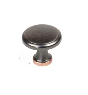 Century BCK 1 3/8 Inch Cabinet Knob in Oil Rubbed Bronze  w/Highlights