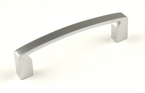 Century Fairmont 96mm Cabinet Pull in Dull Chrome Europe