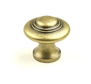 Century Hartford 1 3/8 Inch Cabinet Knob in Aged English