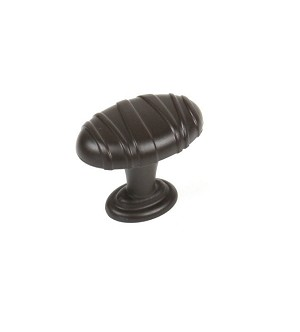 Century Mackinac Oval Knob in Oil Rubbed Bronze