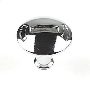 Century Medieval 1 3/16 Inch Cabinet Knob in Polished Chrome