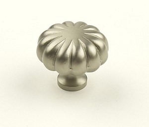 Century Plymouth 1 1/4 Inch Cabinet Knob in Dull Satin Nickel