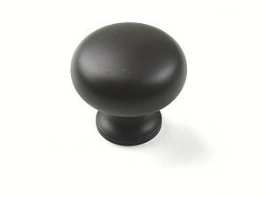 Century Plymouth 1 1/4 Inch Cabinet Knob in Oil Rubbed Bronze