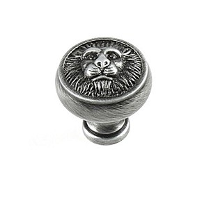 Century Roman 1 1/4 Inch Cabinet Knob in Antique Pewter