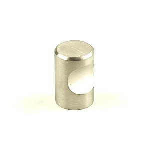 Century Stainless Steel 3/4 Inch Cabinet Knob