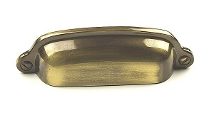 Century Yukon 3 Inch CC Cup Pull in Polished Antique