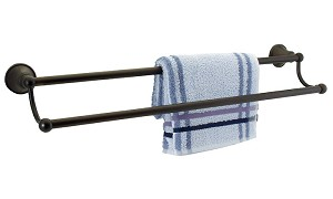 "Dynasty Pacific 24"" Double Towel Bars"