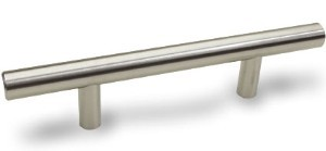 Dynasty European 5 3/4 Inch Bar Pull - Satin Nickel