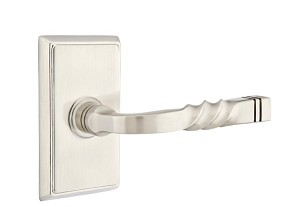 Emtek Santa Fe Lever with Rectangular Rosette