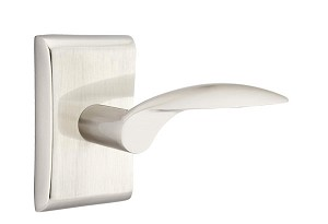 Emtek Mercury Lever Handle with Neos Rosette