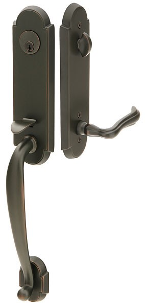 Emtek Door Hardware Emtek Richmond Entrance Handleset