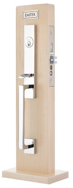 Emtek Brisbane Mortise Entrance Handleset
