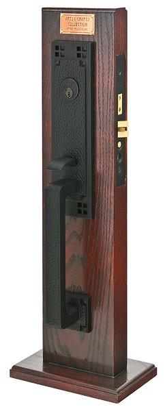 Emtek Door Hardware Emtek Craftsman Mortise Entry Handleset