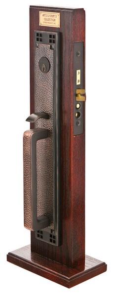 emtek door hardware emtek craftsman full length mortise entry handleset