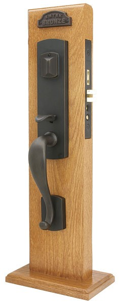 Emtek Morgan Mortise Entrance Handleset