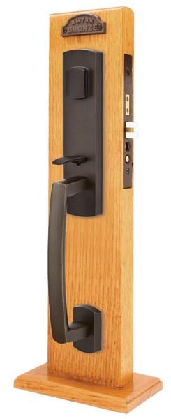 Emtek Door Hardware Emtek Sonoma Mortise Entry Handleset