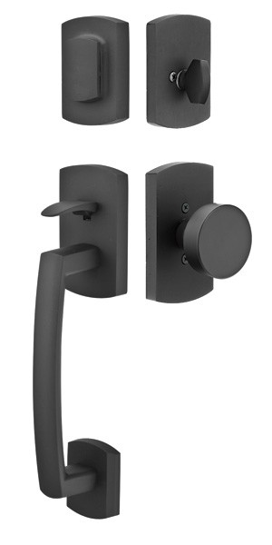 Emtek Door Hardware Emtek Ridgemont Entrance Handleset
