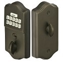 Emtek Electronic Keypad Deadbolt Lockset