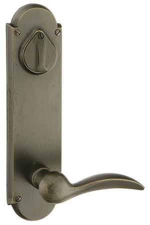 Emtek Sandcast Style 5 Large Decorative Sideplate Lock