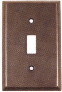 Emtek Colonial Single Switch Plate
