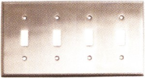 Emtek Colonial Quad Switch Plate