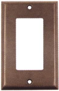 Em29121 emtek colonial single lever gfi outlet cover for Outlet colonial