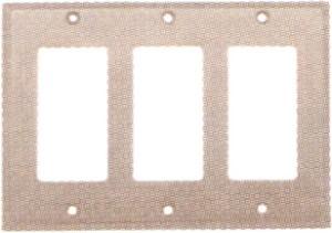 Em29123 emtek colonial triple lever gfi outlet cover for Outlet colonial