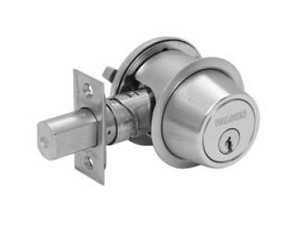 Falcon D100 Series Grade 1 Commercial Deadbolt Classroom Function