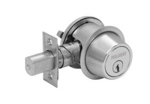 Falcon D100 Series Grade 1 Commercial Deadbolt Single Cylinder x Thumbturn Function