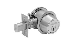 Falcon Grade II D200-Series Commercial Deadbolt Single Cylinder x Turn