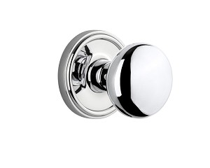 Grandeur Georgetown Rosette with Fifth Avenue Knob