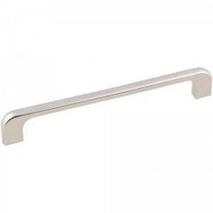 Hardware Resources Alvar 7 Inch Overall Cabinet Pull - Polished Nickel