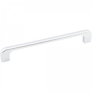 Hardware Resources Alvar 7 Inch Overall Cabinet Pull - Polished Chrome