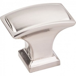 Hardware Resources Annadale 1-1/2 Inch Cabinet Knob - Satin Nickel