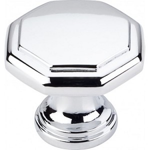 Hardware Resources Drake 1-3/16 Inch Cabinet Knob - Polished Chrome