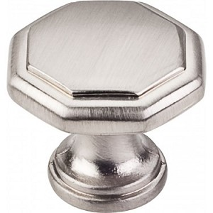 Hardware Resources Drake 1-3/16 Inch Cabinet Knob - Satin Nickel