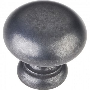 Hardware Resources Geneva 1-1/4 Inch Cabinet Knob- Gun Metal