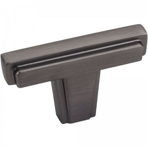 Hardware Resources Lexa Cabinet Knob in Brushed Pewter
