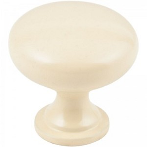 Hardware Resources Madison Cabinet Knob in Almond