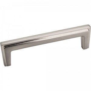 "Hardware Resources 4 3/16"" Lexa Satin Nickel Cabinet Pull"
