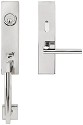 Inox New York Mortise Handleset