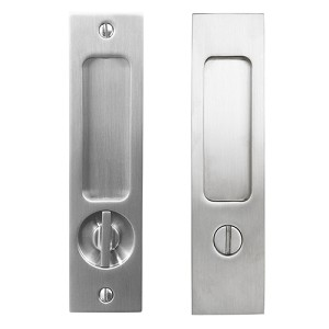 Linnea PL-160S Square Privacy Pocket Door Lock