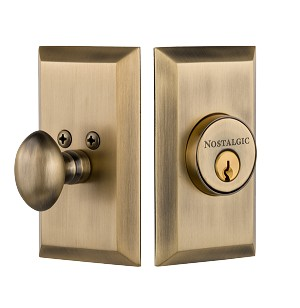 Nostalgic Warehouse Studio Single Cylinder Deadbolt