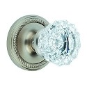 Nostalgic Warehouse Rope Rosette with Crystal Knob