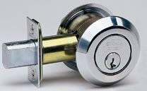 Omnia Style 0806L Double Cylinder Deadbolt with Low Profile Collar