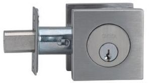 Omnia Stainless Steel Double Cylinder Deadbolt Style D9000S