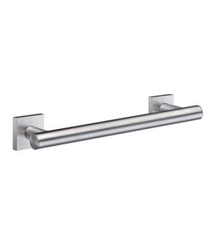Smedbo House Collection Grab Bar - Brushed Chrome