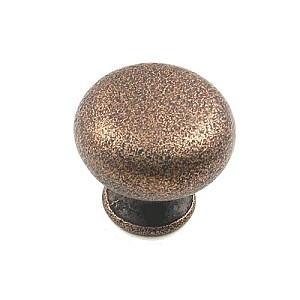 "Rusticware 1 1/4"" Cabinet Knob - Distressed Copper"